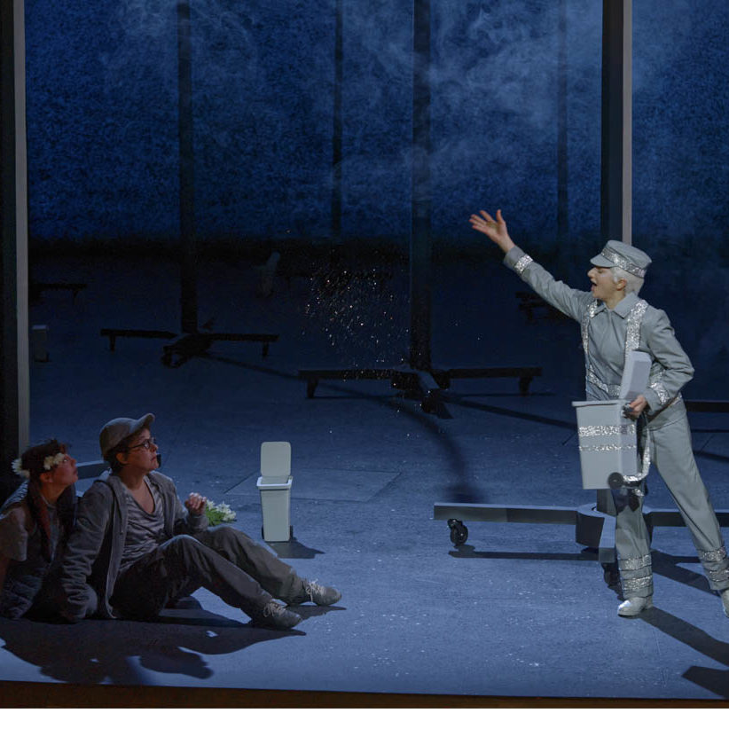 Angers Nantes Opéra, December 2016 Directed by Emmanuelle Bastet Conducted by Thomas Rosner